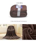 ホテルのための中国の製造者極度の柔らかいポリエステル北極の羊毛毛布の安いベッドカバー