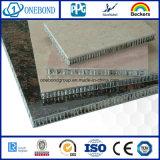 El panel laminado panal de aluminio de piedra para el revestimiento de la pared