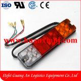 Elektrisches Endstück-Licht 12-24V des Gabelstapler-LED mit 3 Farben