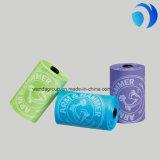 明確なカラープラスチックおむつは赤ん坊のためのロールのカスタム印刷を袋に入れる