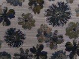 셔닐 실 재료 (HD5134126)로 만드는 100%년 폴리에스테 자카드 직물 패턴 소파 직물