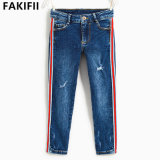 I bambini personalizzati di qualità superiore/bambino/capretto copre le blue jeans all'ingrosso del denim