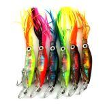 Новые юбки нежности Isca прикормом рыболовства восьминога 40g рыбных продуктов 140mm трудные пластичные