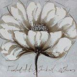 Peinture à l'huile en gros de toile de fleur de beauté de bonne qualité