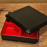 Casella di pranzo di plastica di stile giapponese per Bento (B0301A)