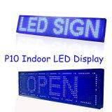 P10 escogen el módulo azul de la visualización de LED de HD para la matriz de PUNTO Semi-Al aire libre de los pixeles 32*16 de /Indoor 320*160m m