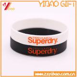 Bracelet fait sur commande de silicones de logo d'impression de mode pour les cadeaux de promotion (YB-SW-014)