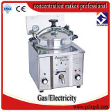 El gas Mdxz-16 saltara la sartén, máquina de la sartén de Kfc, sartén del tratamiento por lotes