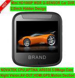 """Mini Car Black Box Dash Camcoder DVR com 2.0 """"HD TFT; Ntk966560 FHD 1080P Gravador de Vídeo Digital de Carro, 5.0m Aptina Ars0330 Câmera, Controle de Estacionamento, Caixa de Carro Preto"""