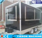 Reboque móvel do caminhão do aço inoxidável