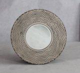 高品質の円形の木ミラーフレーム