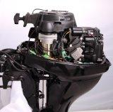 F9.8bml, 9.8HP 4-Stroke, управление румпеля, ручной старт и длинний забортный двигатель вала