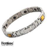 Bracelets magnétiques 316 en acier inoxydable pour homme avec élément de puissance
