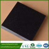Изготовленный на заказ чисто черный Countertop кухни камня кварца