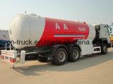 Cino 6X4 24m3 HOWO che riempie il serbatoio del camion di consegna del gas del camion 10ton
