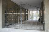 Deur Van uitstekende kwaliteit 6 van de Omheining van het Smeedijzer van de Veiligheid van Haohan Buiten Decoratieve