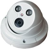 câmera do IP do Web do CCTV da segurança da abóbada da disposição de 1.0MP IR
