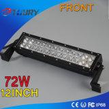 CREE ! barre automatique d'éclairage LED d'endroit d'inondation de 72W 12inch pour le camion