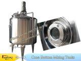 Tanque de mistura do aço inoxidável com lâminas da dispersão
