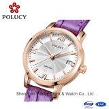 quartz Watch Wholesale 중국 가죽끈 숙녀