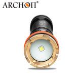 Hot Sale Ce & RoHS Archon W17V-II 1200 Lumens Fotografia de grande angular Snoot Fotografia Macro Scuba Diving Lanterna Toque de mergulho para Macroshot