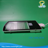 Luz de rua do diodo emissor de luz da C.C. 12V/24V 10W-120W com luz solar