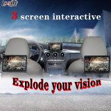 Control de pantalla táctil Android Navigation + Video Interfaz para 2012-2014 Benz C / E / a / B / Ml / Glk (NTG-4.5 / 5.0) Monitor de apoyo para la cabeza Monitor de forma sincrónica