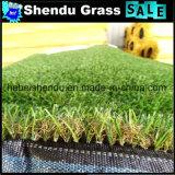 25mm Synthetisch Gras met de Dubbele Steun van het Latex SBR