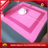 Tablecloth 100% descartável da linha aérea de pano de tabela do damasco do algodão