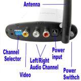 2.4G klopje 330 Draadloze Audio VideoZender AV en Ontvanger /Sender