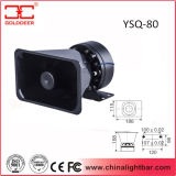 Emergency Warnungs-lauter Lautsprecher des Fahrzeug-80W (YSQ-80)