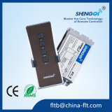 Controllo telecomandato dei canali FC-2 2 per la casa con la ricevente omnidirezionale del segnale radiofonico