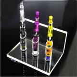 Étalage acrylique d'E-Cig de sigle rond d'étalage de modèle de Vape