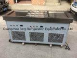 La vente plate de rue de deux carters a fait frire la machine de roulis de crême glacée
