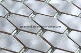 Matel aluminio decoración mosaico de vidrio