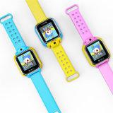 Gelbert新しいG75 3Gは子供の機密保護のためのGPSのスマートな腕時計をからかう
