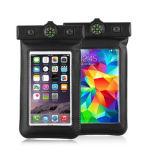 최신 판매 가죽 전화 Bag&Case 방수 이동할 수 있는 케이스에 의하여 주문을 받아서 만들어지는 방수 전화 부대