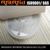 Taille personnalisée Ntag215 Étiquette NFC de sécurité anti-sabotage destructible