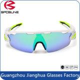 Frame 2016 branco popular óculos de sol protetores dos esportes um HD do olho UV400