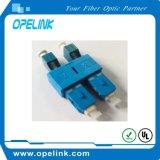 Manutenção programada simples do adaptador da fibra óptica para o cabo de fibra óptica