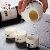 Un Grade Ceramic Mini Tea Tazza/osso Cina Shot Tazza/Wine&#160 di ceramica; Cup con stampa