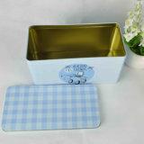 Коробка печений олова/коробка олова еды с произведением искысства таможни печатание
