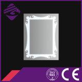 Jnh228 mais novo design claro prata iluminação banheiro espelho LED