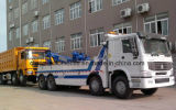 Camión de auxilio resistente del carro 350HP del rescate de HOWO