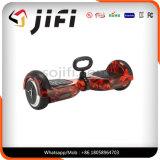 Individu de deux roues équilibrant le scooter électrique Hoverboard avec l'éclairage LED, Bluetooth
