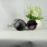 Eingehängtes luftdichtes rundes Tee-Zinn mit Plastikkappe