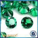 Цены от формы высокого качества зеленый синтетических Nano драгоценных камней