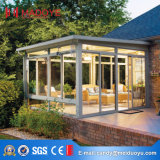 정원을%s 현대 디자인 강화 유리 일요일 집