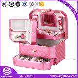 贅沢な方法革宝石類のギフト用の箱