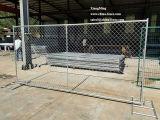 製造業者の支えがないパネルのチェーン・リンクは一時塀のパネルを囲う